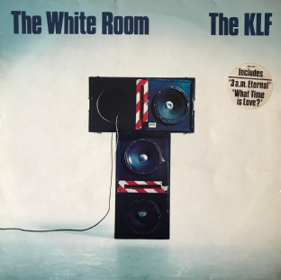KLF ‎( The) - The White Room  (LP) (G++/G++)